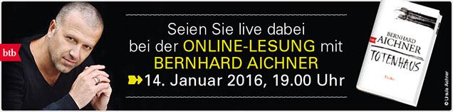 - Bernhard Aichner online live erleben