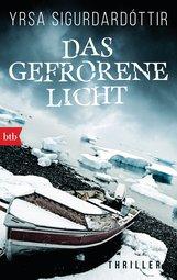 Yrsa  Sigurdardóttir - Das gefrorene Licht