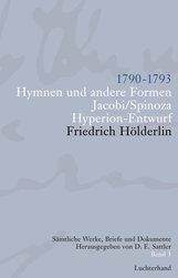 Friedrich  Hölderlin, D. E.  Sattler  (Hrsg.) - Sämtliche Werke, Briefe und Dokumente. Band 3