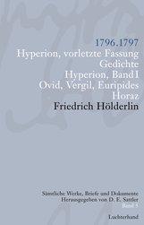 Friedrich  Hölderlin, D. E.  Sattler  (Hrsg.) - Sämtliche Werke, Briefe und Dokumente. Band 5
