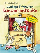 Christa  Boekholt - Lustige 5-Minuten-Kasperlestücke