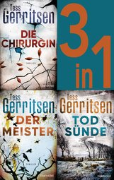 Tess  Gerritsen - Rizzoli & Isles Band 1-3: - Die Chirurgin / Der Meister / Todsünde (3in1-Bundle)