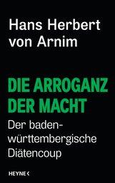 Hans Herbert von Arnim - Die Arroganz der Macht