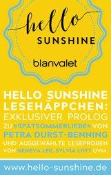 Blanvalet Verlag  (Hrsg.) - Hello Sunshine Lesehäppchen