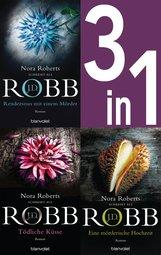 J.D.  Robb - Eve Dallas Band 1-3: - Rendezvous mit einem Mörder / Tödliche Küsse / Eine mörderische Hochzeit (3in1-Bundle)