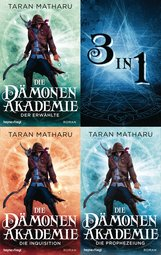 Taran  Matharu - Die Dämonenakademie (3in1-Bundle)