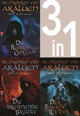 John  Flanagan - Die Chroniken von Araluen 1-3:  - Die Ruinen von Gorlan / Die brennende Brücke / Der eiserne Ritter (3in1-Bundle)