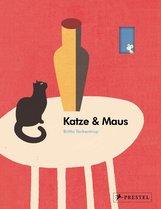 Britta  Teckentrup - Katze und Maus