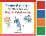 Norbert  Pautner - Fingerstempeln für kleine Künstler-Set - Feen und Fabelwesen