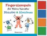 Norbert  Pautner - Fingerstempeln für kleine Künstler-Set - Monster und Abenteuer