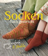 Alice  Curtis - Socken flach gestrickt