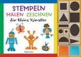 Norbert  Pautner - Stempeln, malen, zeichnen-Set. Nach den Grundsätzen des Bauhaus, Weimar. Gestalten mit geometrischen Grundformen