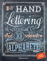 Norbert  Pautner - Handlettering. Die 33 schönsten Alphabete mit Rahmen, Ornamenten und Bordüren