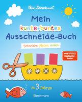 Nico  Sternbaum - Mein kunterbuntes Ausschneide-Buch