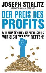 Joseph  Stiglitz - Der Preis des Profits
