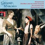 Brüder Grimm - Rotkäppchen, Der Wolf und die sieben Geißlein, Die goldene Gans, Tischlein deck dich