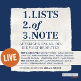 Shaun  Usher  (Hrsg.) - Lists of note – live