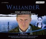 Henning  Mankell - Wallander. Fünf Hörspiele. 2. Staffel