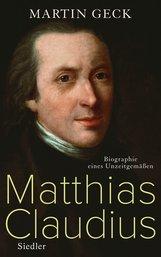 Martin  Geck - Matthias Claudius
