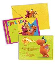 Der kleine Drache Kokosnuss - Einladungskarten-Set