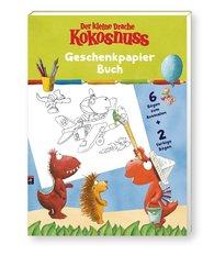 Der kleine Drache Kokosnuss - Geschenkpapier-Buch