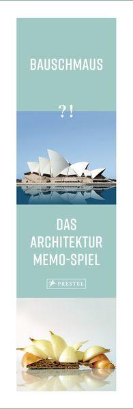 Katharina  Empl, Marie-Jeannine  Félix, Maximilian  Huber, Susanne  Huber, Andreas  Wittmann - Bauschmaus - Das Architektur-Memo-Spiel (Spiel)