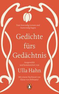 Ulla  Hahn  (Hrsg.) - Gedichte fürs Gedächtnis