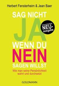 Herbert  Fensterheim, Jean  Baer - Sag nicht ja, wenn du nein sagen willst