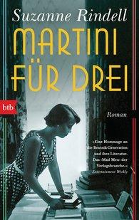 Suzanne  Rindell - Martini für drei
