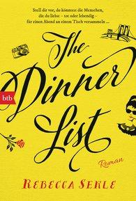 Rebecca  Serle - The Dinner List