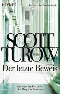 Scott  Turow - Der letzte Beweis