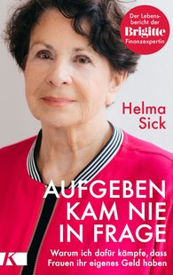 Helma  Sick - I Never Thought of Giving Up