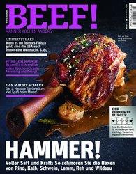 Gruner+Jahr GmbH  (Hrsg.) - BEEF! Heft 01/2018 - Für Männer mit Geschmack