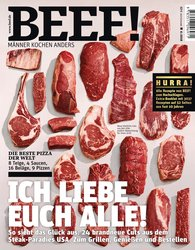 Gruner+Jahr GmbH  (Hrsg.) - BEEF! - Für Männer mit Geschmack