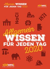 Allgemeinwissen für jeden Tag 2020 Tagesabreißkalender