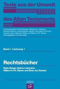 Rykle  Borger  (Autor, Hrsg.), Heiner  Lutzmann, Willem H. Ph.  Römer  (Autor, Hrsg.), Einar von Schuler, Otto  Kaiser  (Hrsg.), Wilhelmus C.  Delsman  (Hrsg.), Manfried  Dietrich  (Hrsg.), Ursula  Kaplony-Heckel  (Hrsg.), Oswald  Loretz  (Hrsg.), Walter W.  Müller  (Hrsg.) - Rechtsbücher