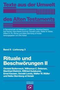Otto  Kaiser  (Hrsg.) - Rituale und Beschwörungen II