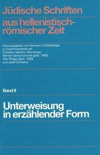 Jüdische Schriften aus hellenistisch-römischer Zeit, Band II - Buchdecke