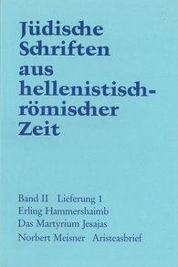 E.  Hammershaimb, Norbert  Meisner - Das Martyrium Jesajas. Aristeasbrief