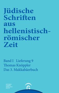 Thomas  Knöppler - 3. Makkabäerbuch