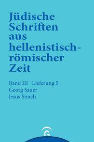 Georg  Sauer - Jesus Sirach (Ben Sira)