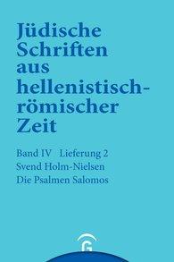 Svend  Holm-Nielsen - Die Psalmen Salomos