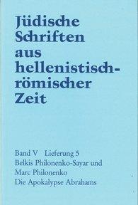 B.  Philonenko-Sayar, Marc  Philonenko - Die Apokalypse Abrahams