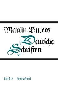 Martin  Bucer - Registerband