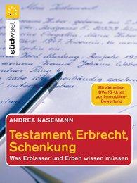 Andrea  Nasemann - Testament, Erbrecht, Schenkung