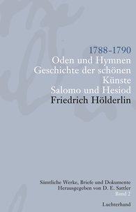 Friedrich  Hölderlin, D. E.  Sattler  (Hrsg.) - Sämtliche Werke, Briefe und Dokumente. Band 2