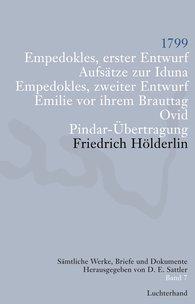 Friedrich  Hölderlin, D. E.  Sattler  (Hrsg.) - Sämtliche Werke, Briefe und Dokumente. Band 7