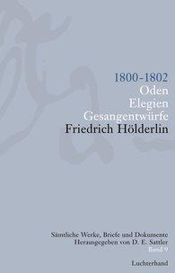 Friedrich  Hölderlin, D. E.  Sattler  (Hrsg.) - Sämtliche Werke, Briefe und Dokumente. Band 9