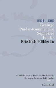 Friedrich  Hölderlin, D. E.  Sattler  (Hrsg.) - Sämtliche Werke, Briefe und Dokumente. Band 11