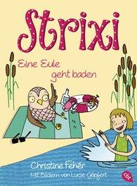Christine  Fehér - Strixi - Eine Eule geht baden